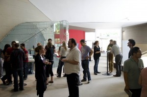 Photo of participants gathered at the Max Planck Institute.